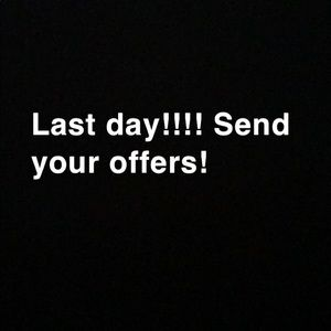 Send your offers! Accepting low prices!!